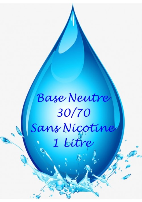 BASE NEUTRE VAPMISTY 30/70 (1L)