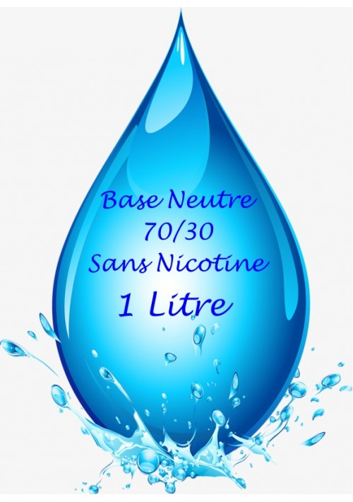 BASE NEUTRE VAPMISTY 70/30 (1L)