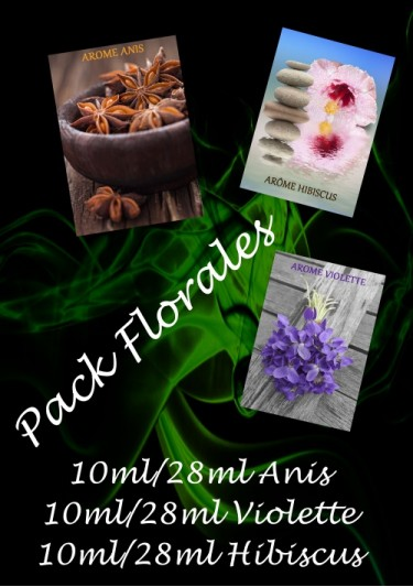 PACK ARÔMES FLORALES