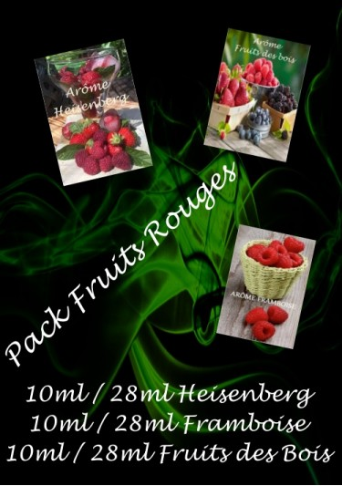 PACK ARÔMES FRUITS ROUGES
