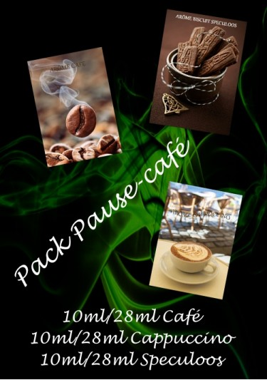 "PACK ARÔMES ""PAUSE-CAFE"""