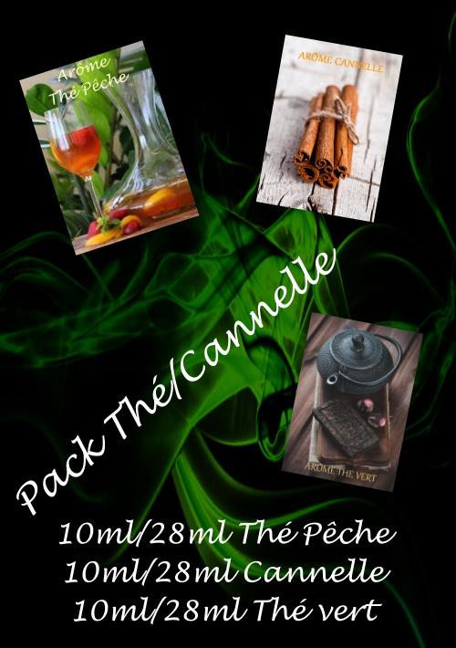 PACK ARÔMES THE/CANNELLE