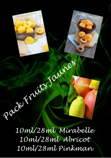 PACK ARÔMES FRUITS JAUNES