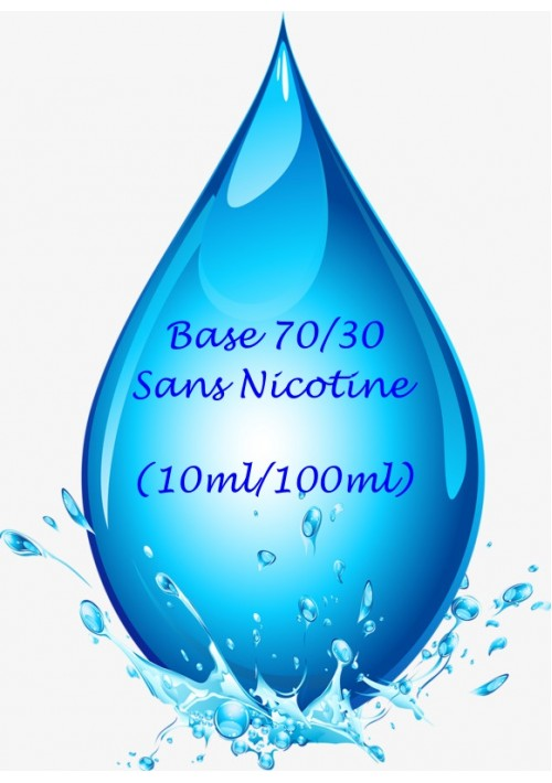 BASE NEUTRE 70/30 (10ml ou 100ML)