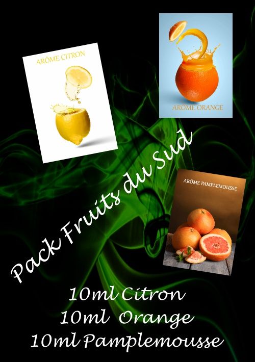 PACK ARÔMES FRUITS DU SUD